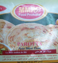 MMRF FROZEN FOOD Parotta